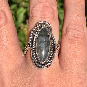 Carolyn Pollack Relios Sterling Labradorite Ring